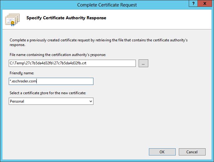 Sharepoint 2013 Iis7 Nlb Ssl Certificates And Godaddy Renewal