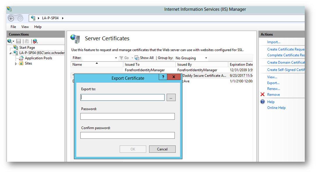 Sharepoint 2013 Iis7 Nlb Ssl Certificates And Godaddy