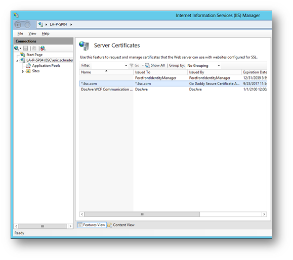 SharePoint 2013, IIS7, NLB, SSL certificates and GoDaddy