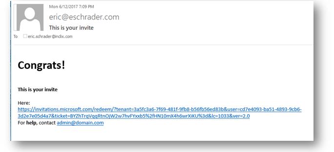 SharePoint Online Azure AD B2B – Custom email invites for
