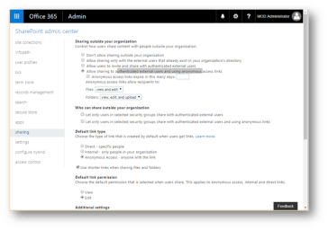 SharePoint Online Communication site – How to share with external