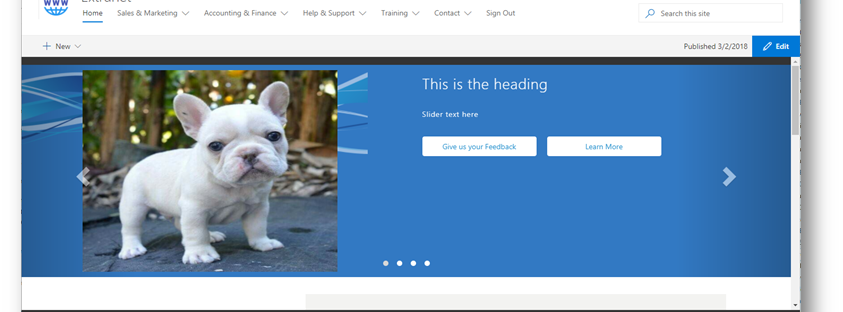 Create a SPFx web part to display SharePoint list data based