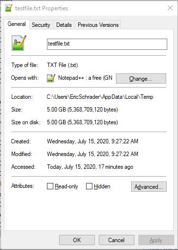 5gb test file